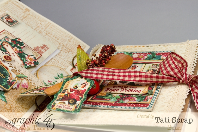 Tati, Mixed Media Album, A Christmas Carol, Product by Graphic 45, Photo 14