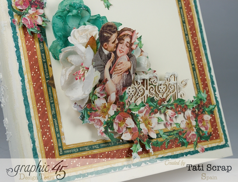 Tati, Mixed Media Album, A Christmas Carol, Product by Graphic 45, Photo 2