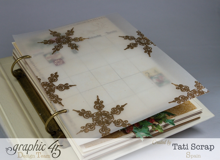 Tati, Mixed Media Album, A Christmas Carol, Product by Graphic 45, Photo 8
