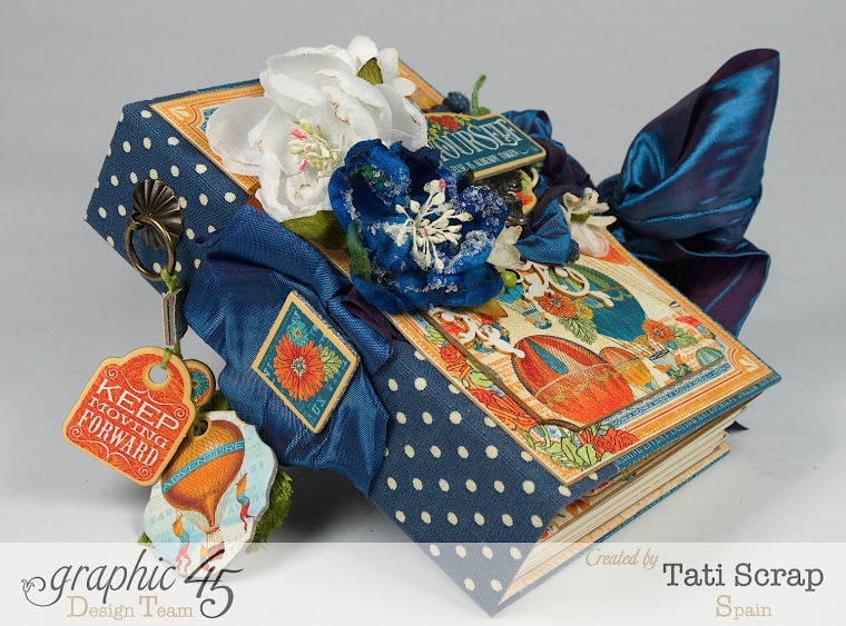 Tati, World's Fair Mini Album, Product by Graphic 45, Photo 2