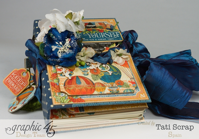 Tati, World's Fair Mini Album, Product by Graphic 45, Photo 3