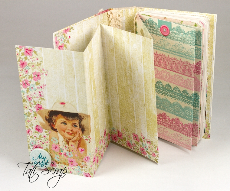 Tati,Mini Album, Scrapberry´s, Photo 6