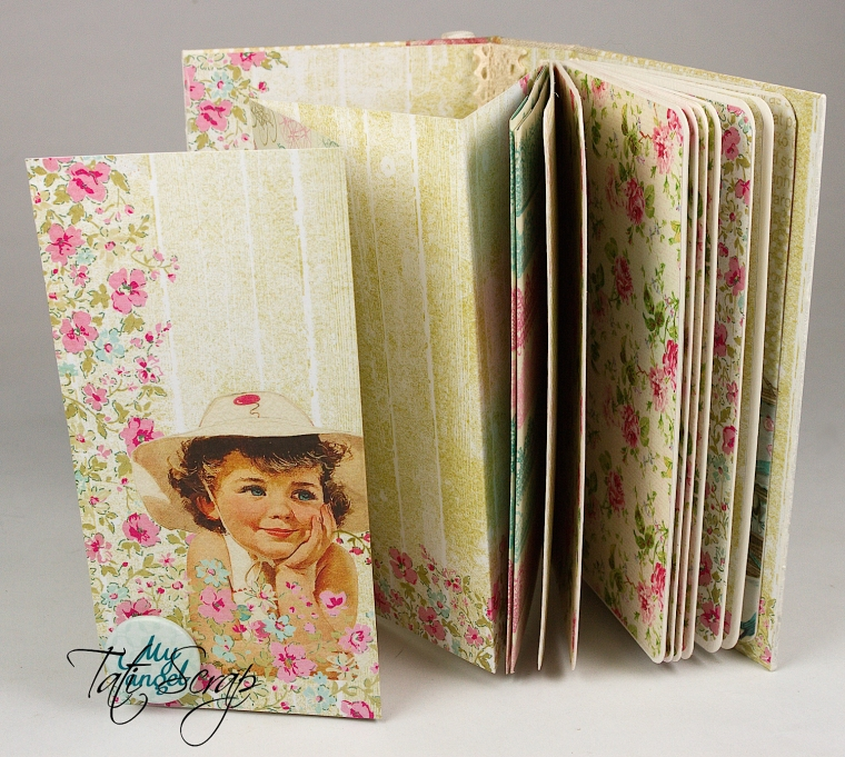 Tati,Mini Album, Scrapberry´s, Photo 9