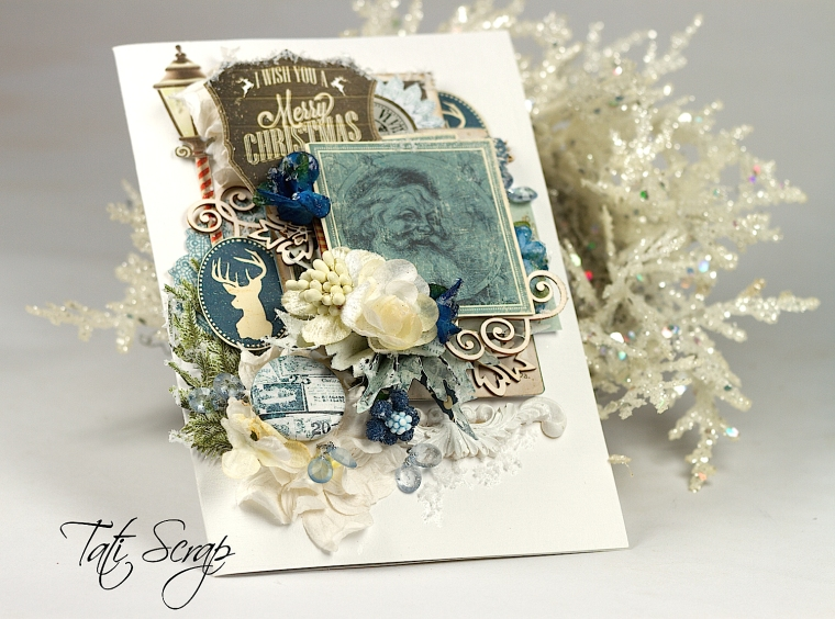 Tati, Christmas Card, Scrapberry´s. Photo 4