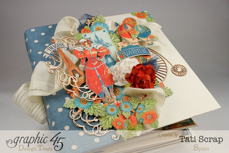 Tati, World´s Fair, Mixed Media Album, Product by Graphic 45, Photo 1