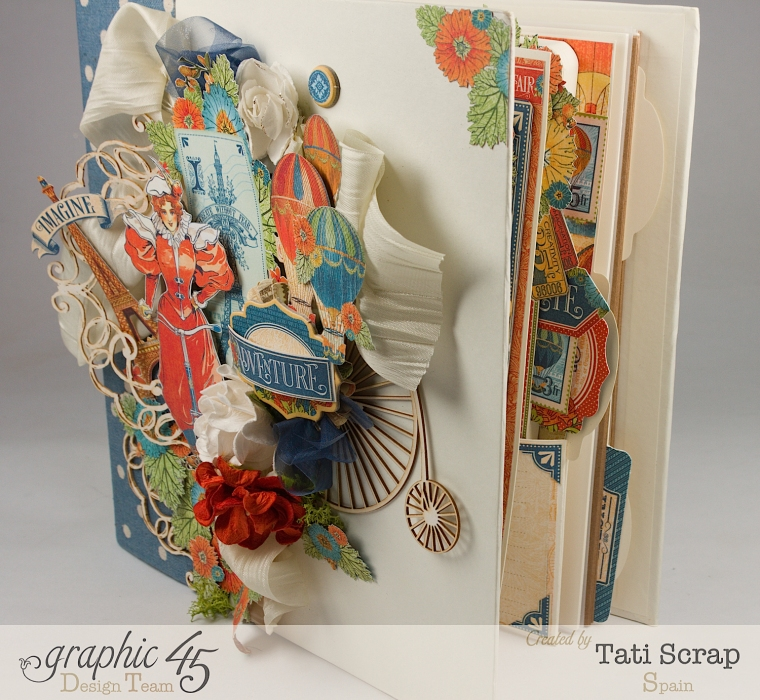 Tati, World´s Fair, Mixed Media Album, Product by Graphic 45, Photo 2