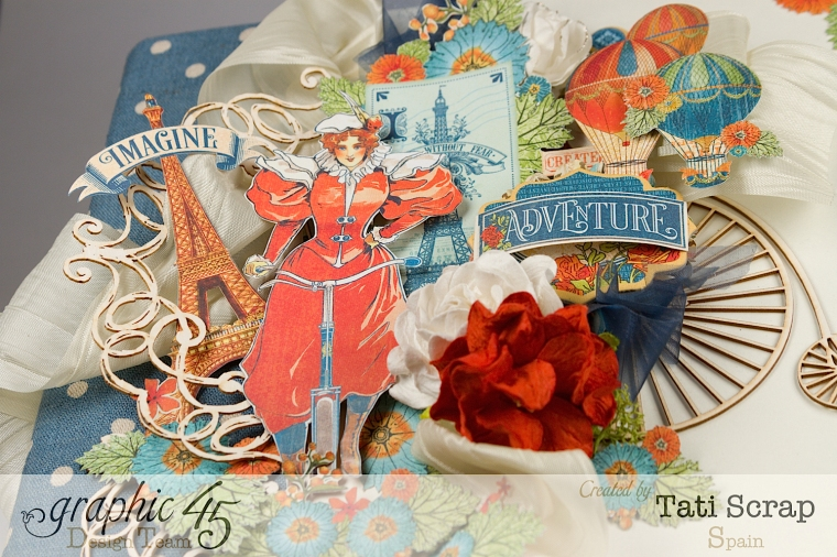 Tati, World´s Fair, Mixed Media Album, Product by Graphic 45, Photo 5