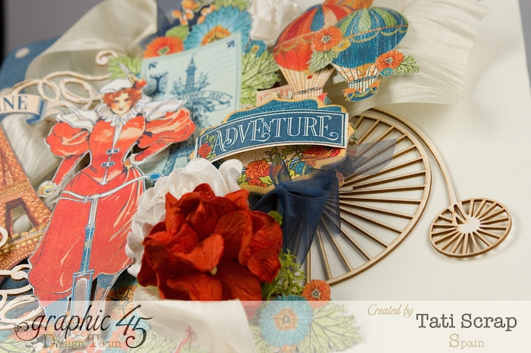 Tati, World´s Fair, Mixed Media Album, Product by Graphic 45, Photo 6
