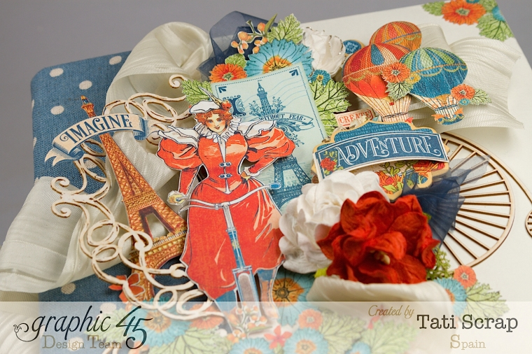 Tati, World´s Fair, Mixed Media Album, Product by Graphic 45, Photo 7