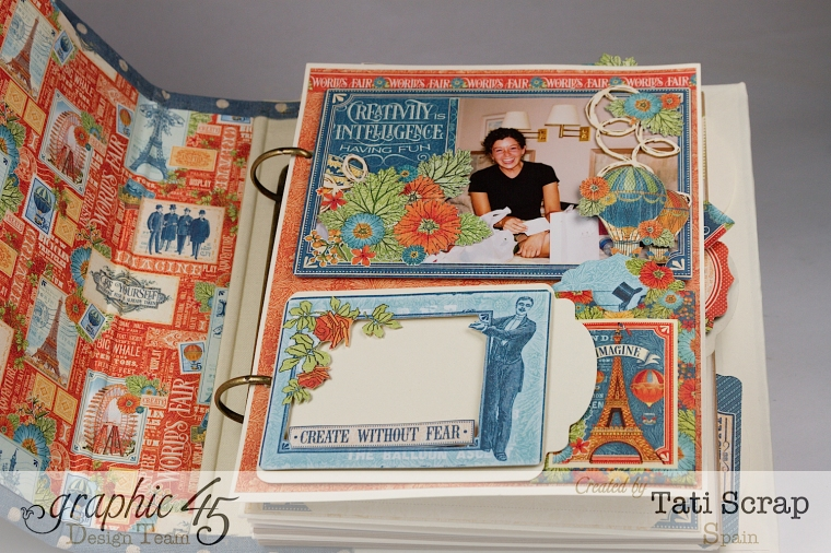 Tati, World´s Fair, Mixed Media Album, Product by Graphic 45, Photo 8