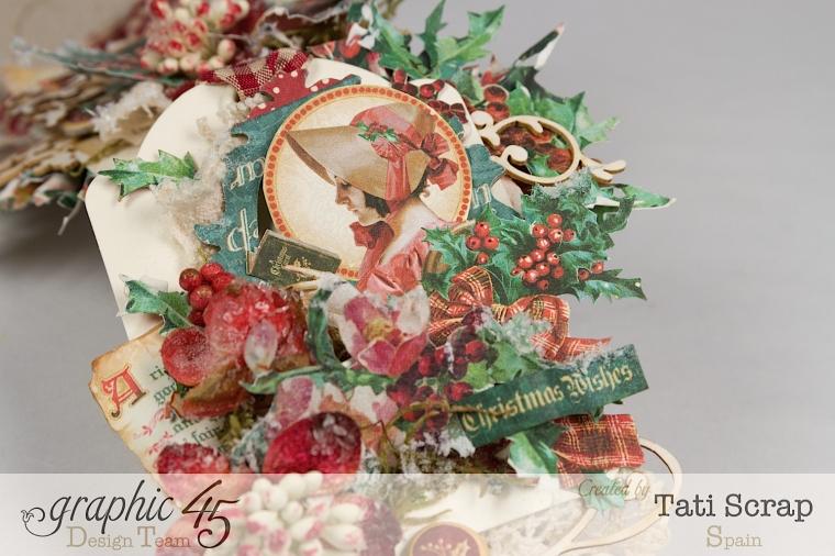 Tati,Tag Banner, Christmas Carol, Product by Graphic 45, Photo 11