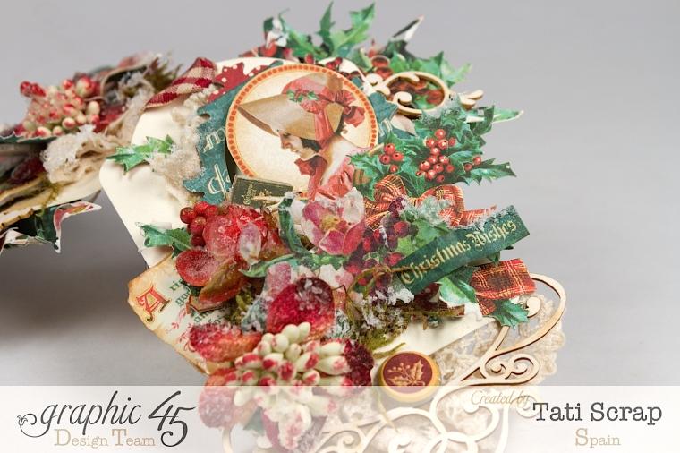 Tati,Tag Banner, Christmas Carol, Product by Graphic 45, Photo 8