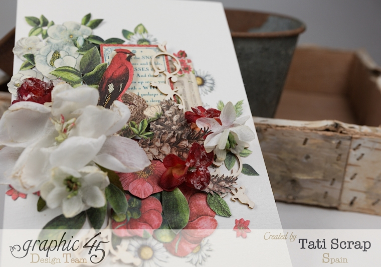 Tati, Card, Time to Flourish, Product by Graphic 45,Photo5