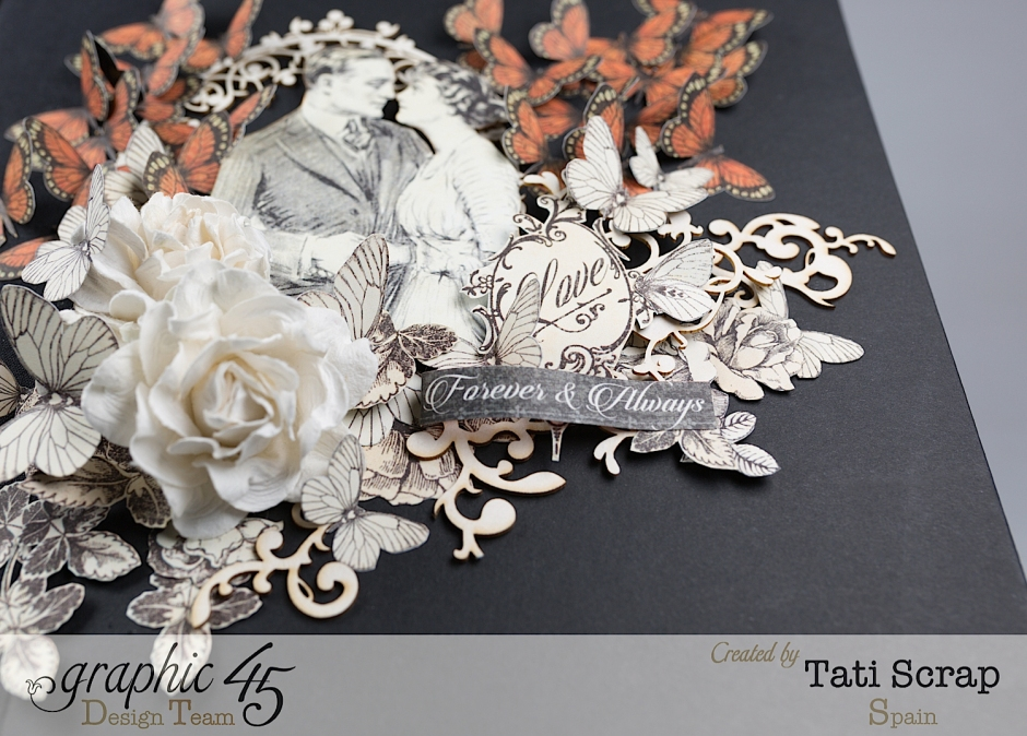 Tati, Mixed media Album, Mon Amour Collection, Product by Graphic 45, Photo 3
