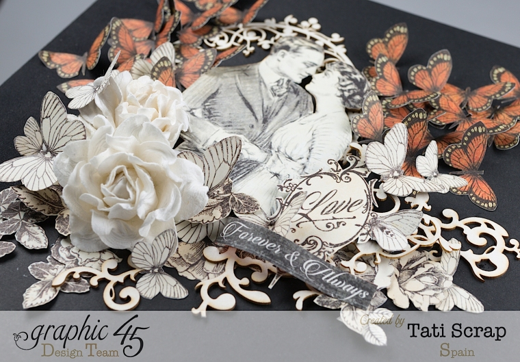 Tati, Mixed media Album, Mon Amour Collection, Product by Graphic 45, Photo 5