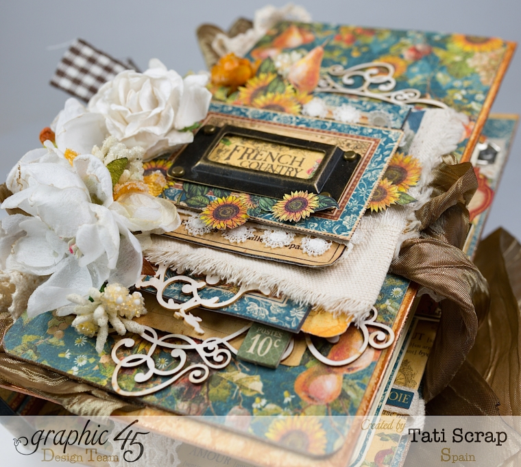 Tati, Recipe Album, French Country, Product by Graphic 45, Photo 1