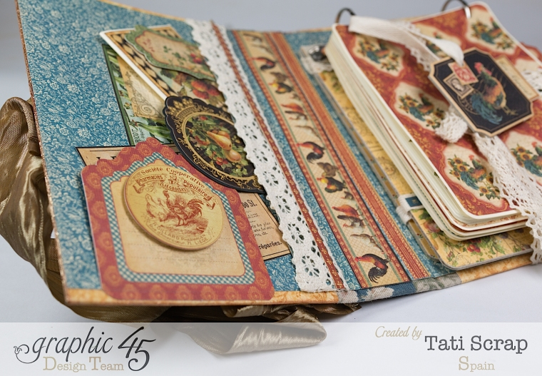 Tati, Recipe Album, French Country, Product by Graphic 45, Photo 14