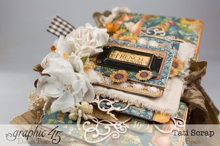 Tati, Recipe Album, French Country, Product by Graphic 45, Photo 16