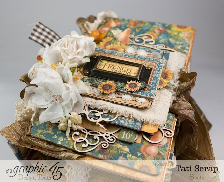 Tati, Recipe Album, French Country, Product by Graphic 45, Photo 17