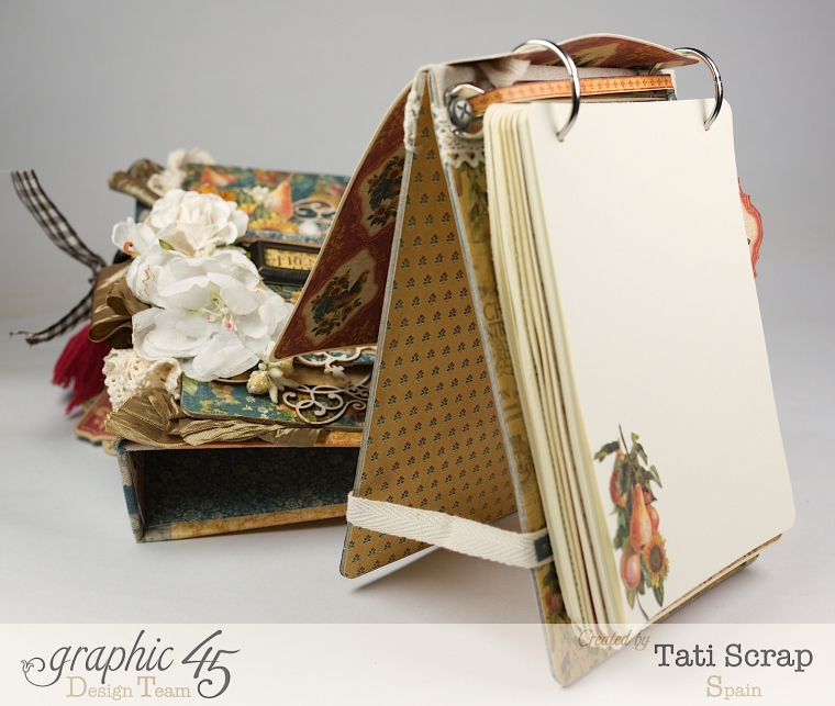 Tati, Recipe Album, French Country, Product by Graphic 45, Photo13