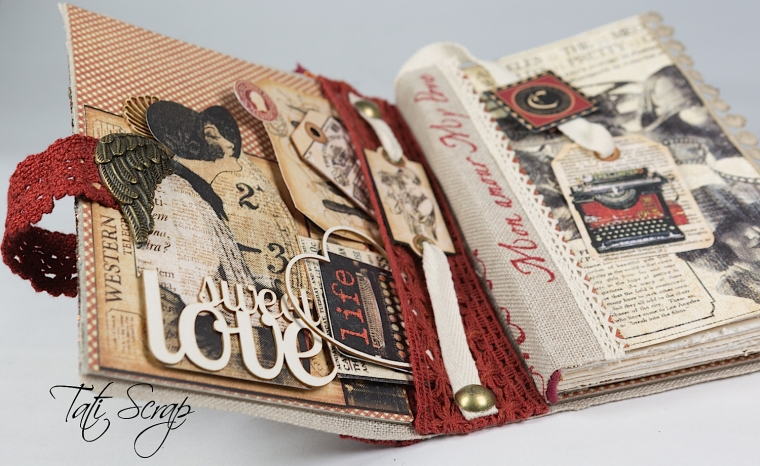 Tati, Be me Valentine, Book, Communique, Product by Graphic 45, Photo 13