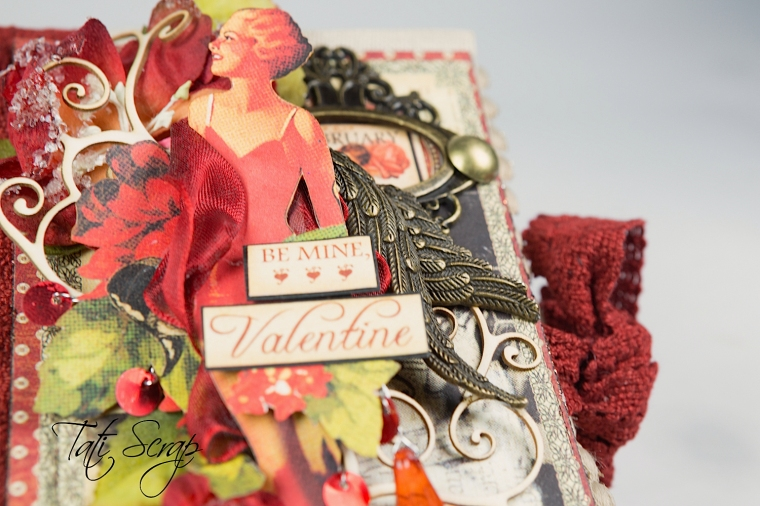 Tati, Be me Valentine, Book, Communique, Product by Graphic 45, Photo 5