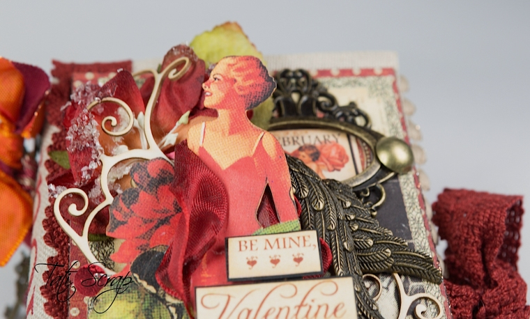 Tati, Be me Valentine, Book, Communique, Product by Graphic 45, Photo 6