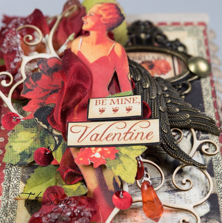 Tati, Be me Valentine, Book, Communique, Product by Graphic 45, Photo 7