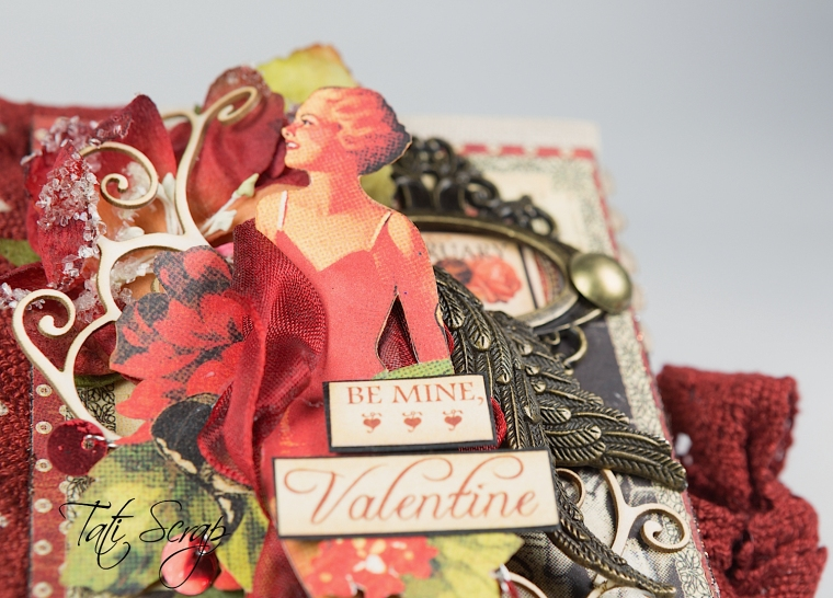 Tati, Be me Valentine, Book, Communique, Product by Graphic 45, Photo 8