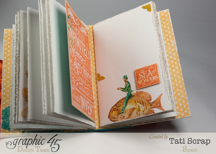 Tati,Traveller Book, Voyage Beneath the Sea, Product by Graphic 45, Photo 11
