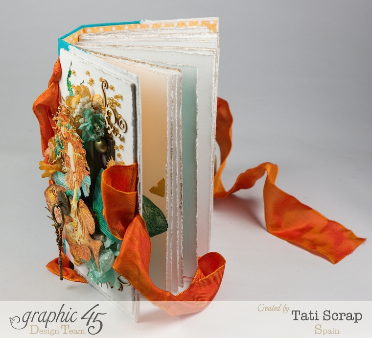 Tati,Traveller Book, Voyage Beneath the Sea, Product by Graphic 45, Photo 12