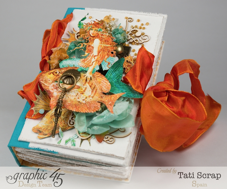 Tati,Traveller Book, Voyage Beneath the Sea, Product by Graphic 45, Photo 2