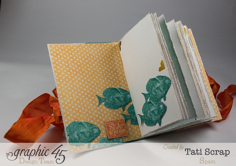 Tati,Traveller Book, Voyage Beneath the Sea, Product by Graphic 45, Photo 7