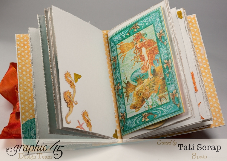 Tati,Traveller Book, Voyage Beneath the Sea, Product by Graphic 45, Photo 9