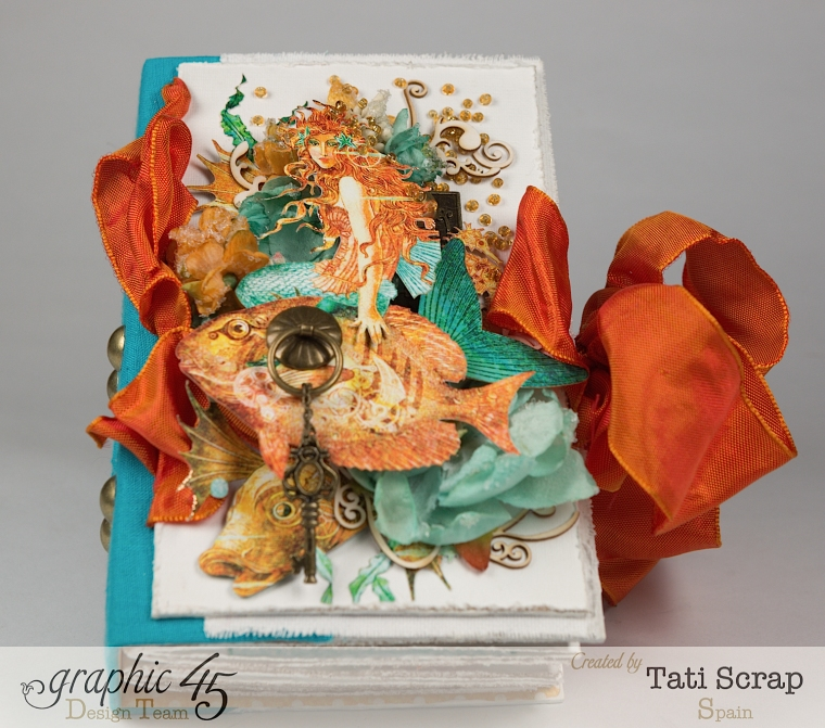 Tati,Traveller Book, Voyage Beneath the Sea, Product by Graphic 45, Photo1-a
