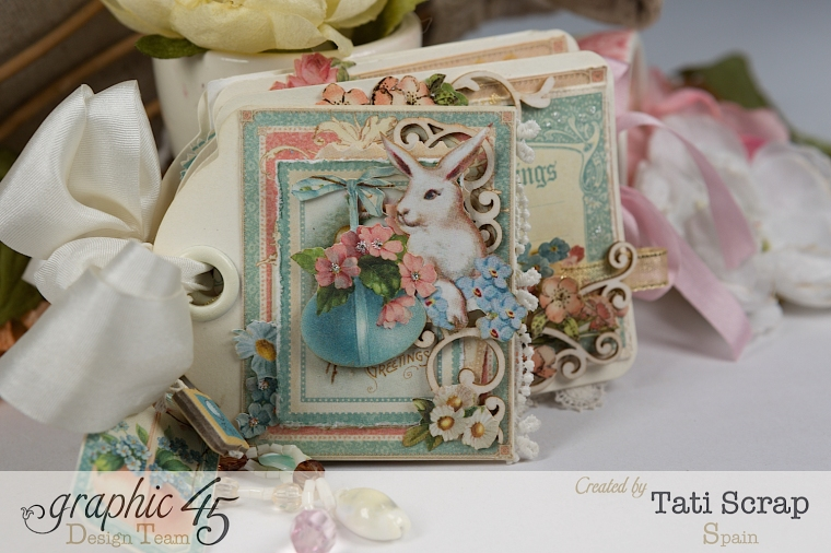 Tati, Easter Tags, Sweet Sentiments & Once Upon a Springtime, Product by Graphic 45, Photo 0