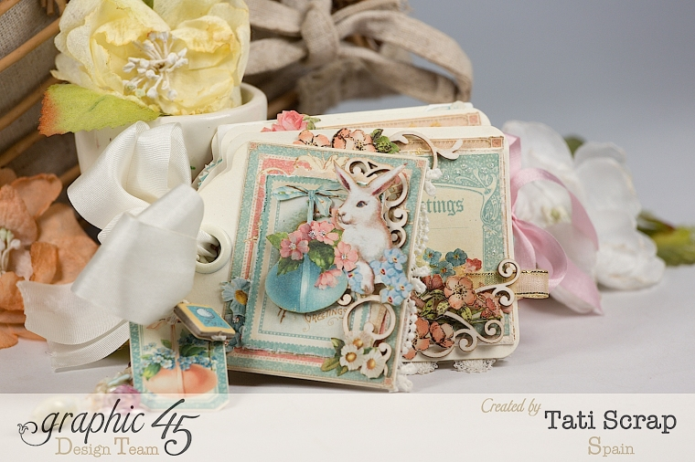 Tati, Easter Tags, Sweet Sentiments & Once Upon a Springtime, Product by Graphic 45, Photo 1