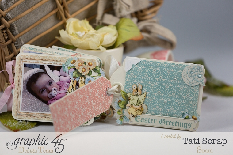 Tati, Easter Tags, Sweet Sentiments & Once Upon a Springtime, Product by Graphic 45, Photo 10