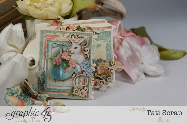 Tati, Easter Tags, Sweet Sentiments & Once Upon a Springtime, Product by Graphic 45, Photo 11