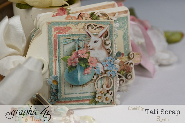 Tati, Easter Tags, Sweet Sentiments & Once Upon a Springtime, Product by Graphic 45, Photo 12