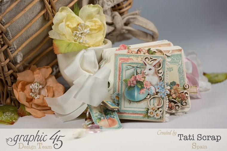 Tati, Easter Tags, Sweet Sentiments & Once Upon a Springtime, Product by Graphic 45, Photo 2