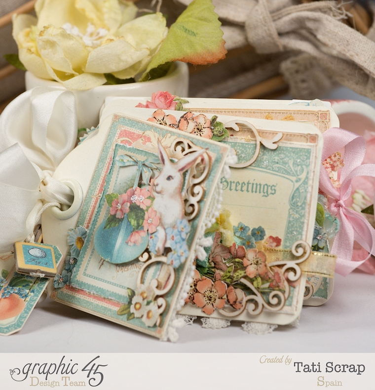 Tati, Easter Tags, Sweet Sentiments & Once Upon a Springtime, Product by Graphic 45, Photo 3