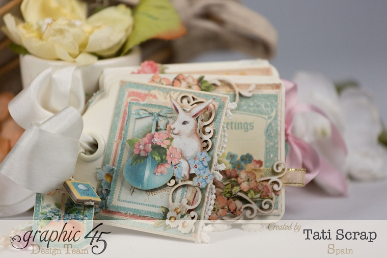 Tati, Easter Tags, Sweet Sentiments & Once Upon a Springtime, Product by Graphic 45, Photo 4