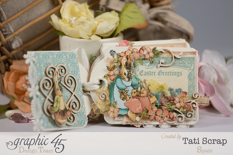 Tati, Easter Tags, Sweet Sentiments & Once Upon a Springtime, Product by Graphic 45, Photo 5