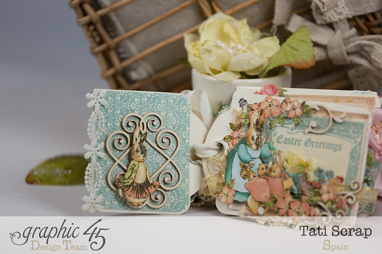 Tati, Easter Tags, Sweet Sentiments & Once Upon a Springtime, Product by Graphic 45, Photo 6