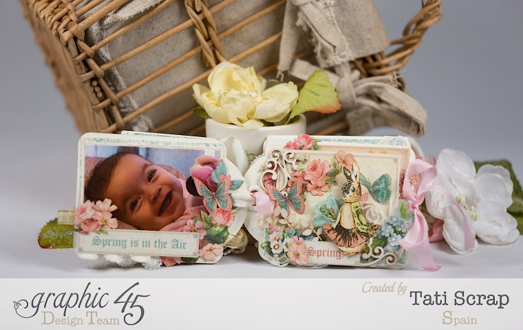 Tati, Easter Tags, Sweet Sentiments & Once Upon a Springtime, Product by Graphic 45, Photo 7
