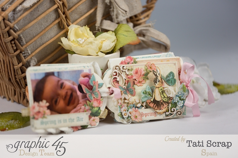 Tati, Easter Tags, Sweet Sentiments & Once Upon a Springtime, Product by Graphic 45, Photo 8
