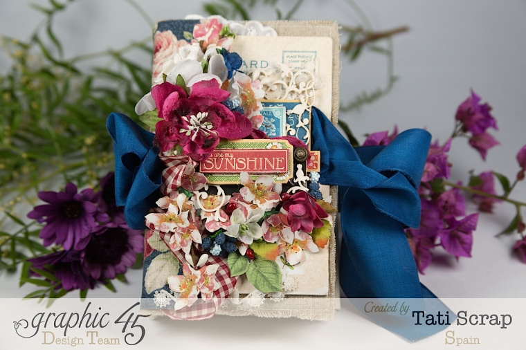 Tati, Spring Book, May Arts blog hop, Children´s Hour, Product by Graphic 45, Photo 2