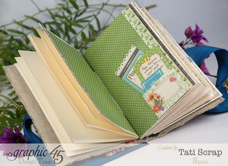 Tati, Spring Book, May Arts blog hop, Children´s Hour, Product by Graphic 45, Photo10