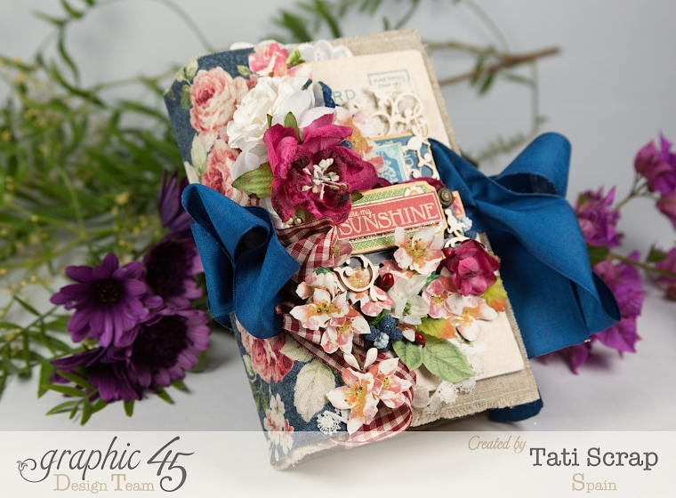 Tati, Spring Book, May Arts blog hop, Children´s Hour, Product by Graphic 45, Photo3